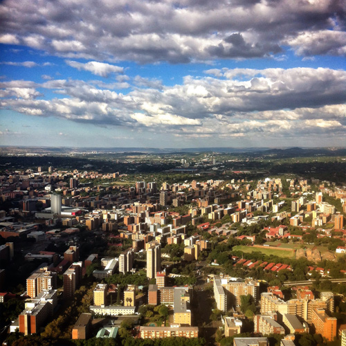 downtown Pretoria