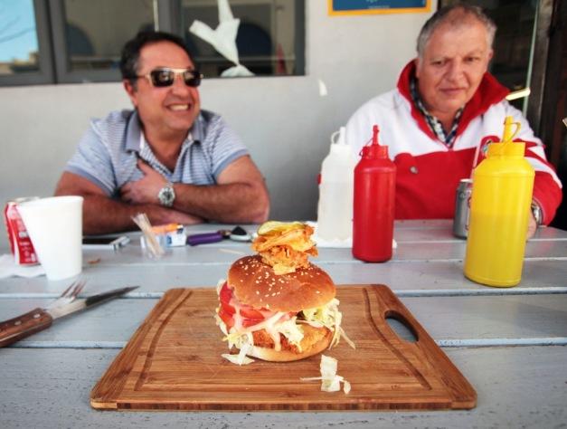 Norwood - RTG schnitzel burger