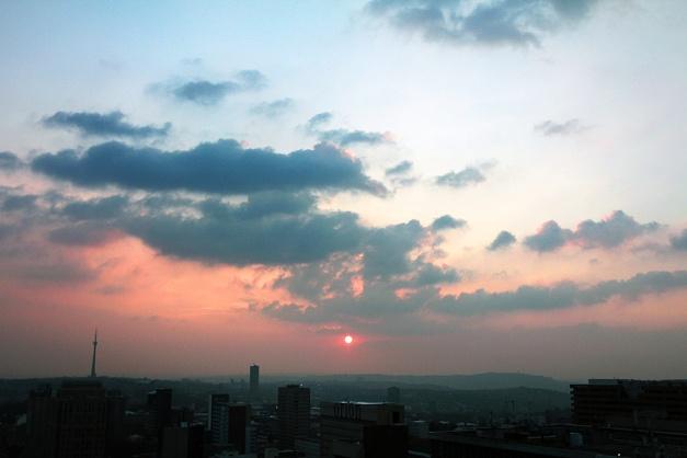 Parktonian sunset