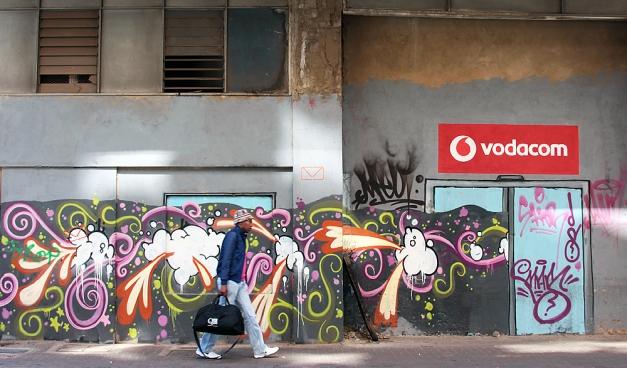 Vodacom graffiti