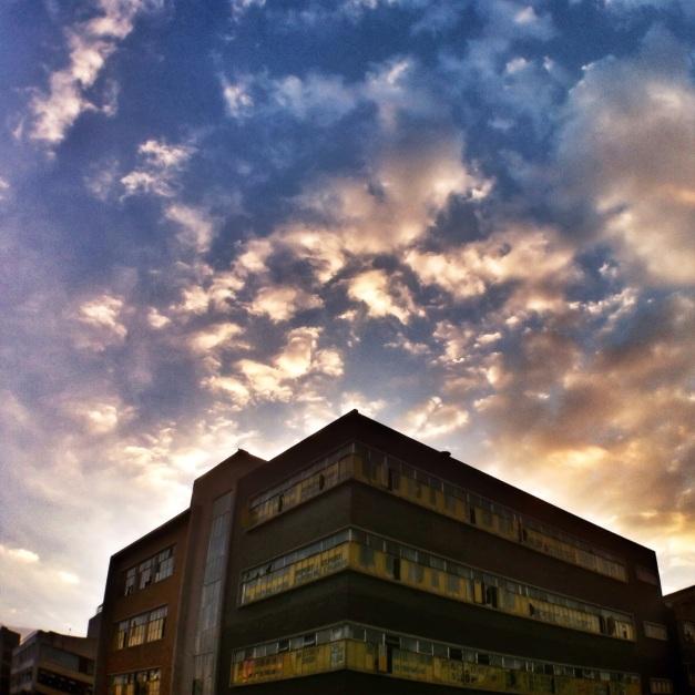 wide building