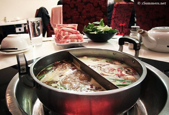 Hot pot before